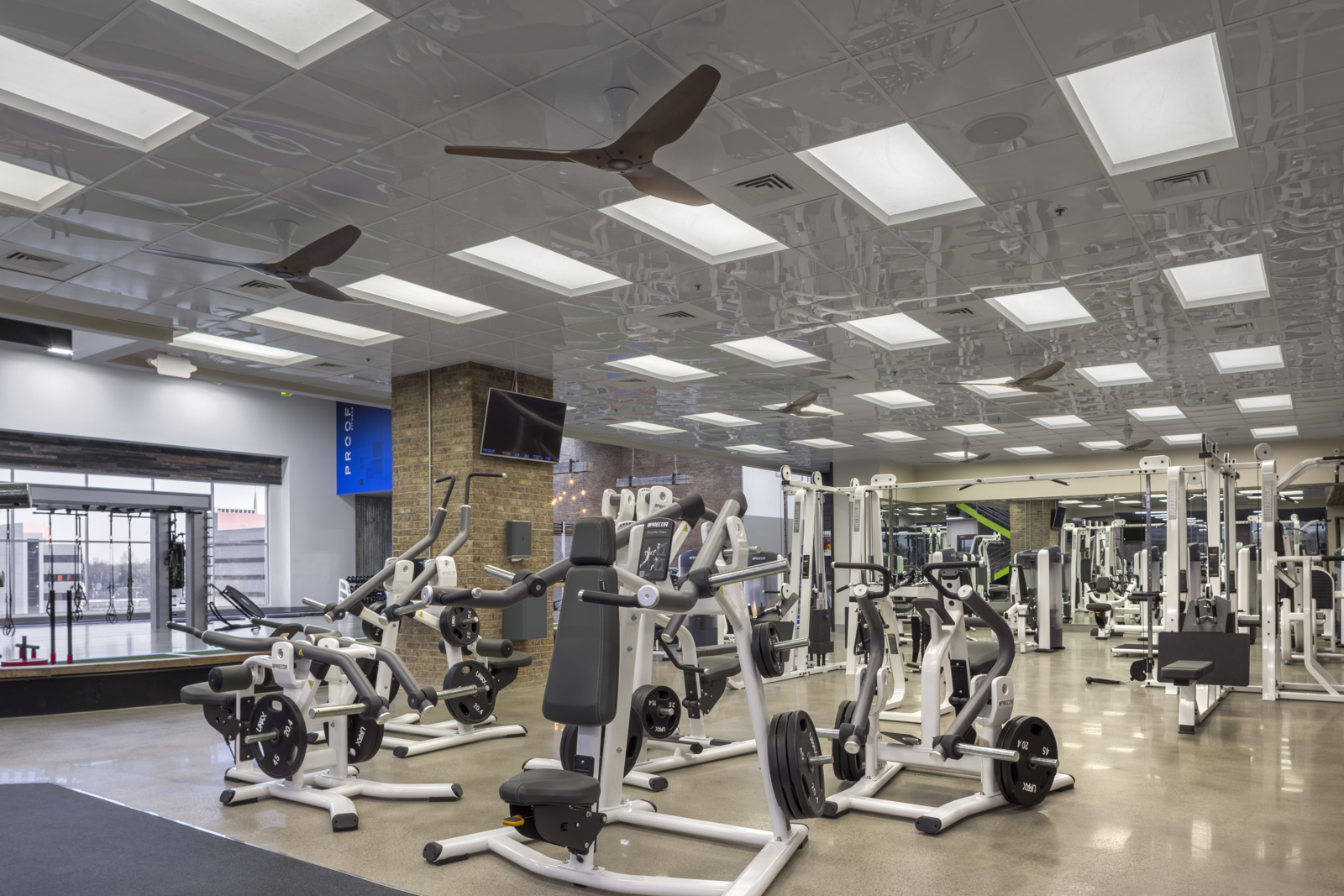 Proof Fitness located in downtown Lexington provides world-class facilities with a five-star concierge service.